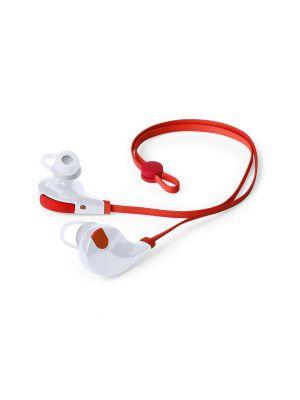 Auriculares botón seida con publicidad vista 1