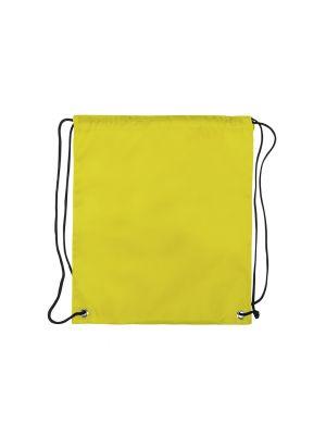 Mochila cuerdas personalizada dinki de poliéster con logo imagen 2