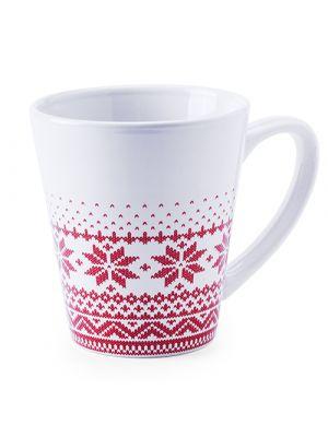 Taza clásica nuglex de cerámica con impresión vista 2