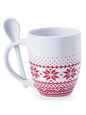 Taza clásica sorbux de cerámica para publicidad vista 1