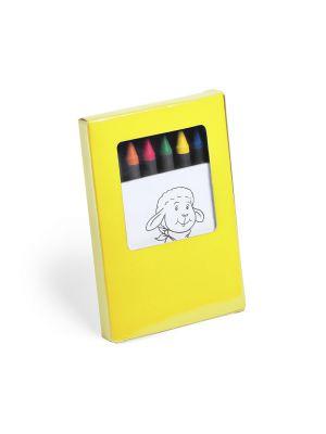 Pinturas colorear yisus con publicidad vista 1