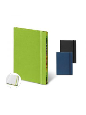 Libretas con banda elastica color note ii vista 2