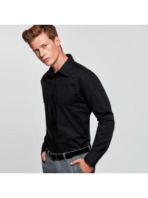 Camisas manga larga roly moscu de algodon con publicidad imagen 1