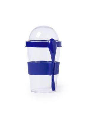 Vasos cocina yoplat de plástico con publicidad vista 1