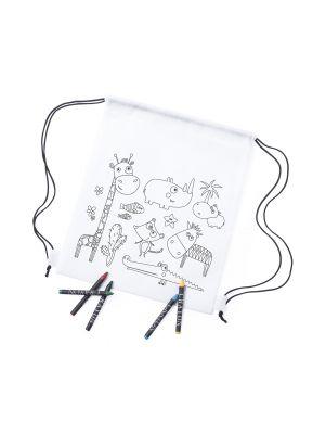 Mochilas infantiles wizzy no tejido con publicidad imagen 1