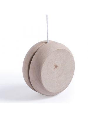 Juguetes y puzzles yoyo cretium de madera con logo imagen 1