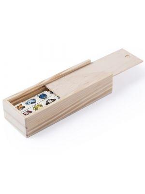 Barajas y juegos de mesa dominó kelpet de madera imagen 1