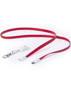 Cables cargador doffer con publicidad vista 2