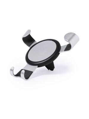 Soportes móviles seinox de metal con publicidad vista 1