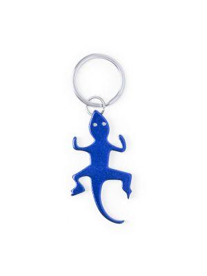 Llaveros forma animales ibik de metal con publicidad vista 2