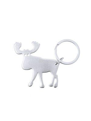 Llaveros forma animales pudox de metal imagen 1