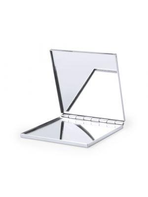 Espejos bilof de metal con logo vista 1