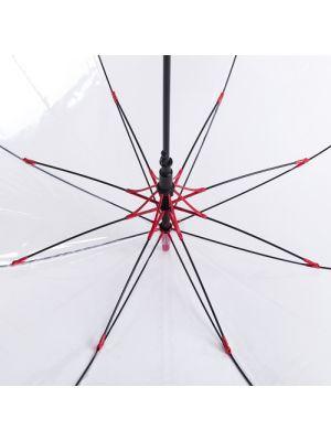 Paraguas clásicos fantux de plástico para personalizar vista 1