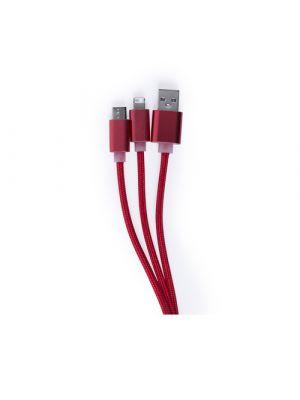 Cables cargador scolt de metal vista 2