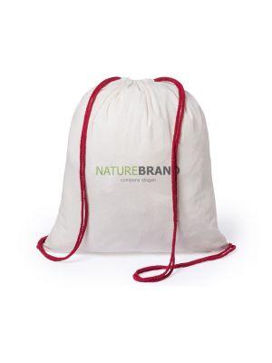 Mochila cuerdas personalizada tianax de 100% algodón ecológico con publicidad imagen 1