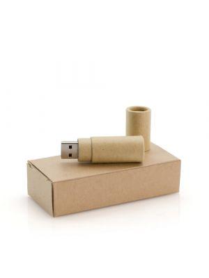 Usb personalizados eku 16gb de cartón ecológico con impresión vista 1