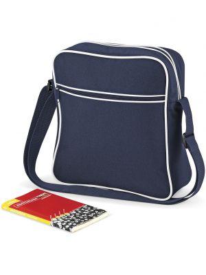 Bolsa de viaje personalizada bag base de viaje retro con logo imagen 3