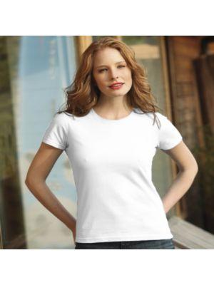 Camisetas manga corta keya wcs150w de 100% algodón para personalizar vista 1