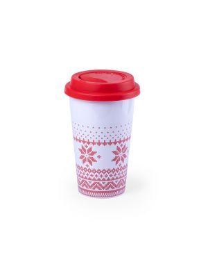Vasos para llevar helfox de cerámica para personalizar vista 1