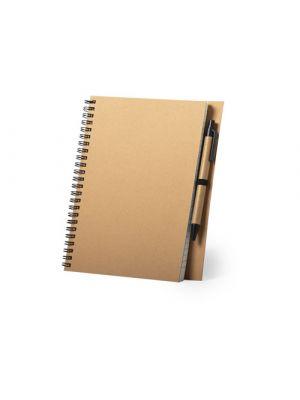 Cuadernos con anillas neyla de cartón ecológico vista 1
