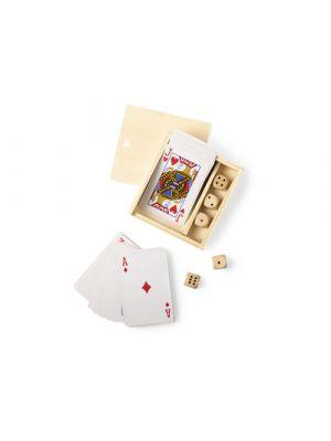 Barajas y juegos de mesa set juegos pelkat de madera imagen 2