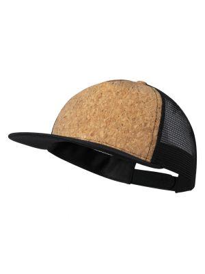 Gorras loriok de corcho ecológico con impresión vista 1