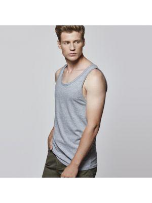Camisetas tirantes roly texas de 100% algodón con publicidad imagen 1