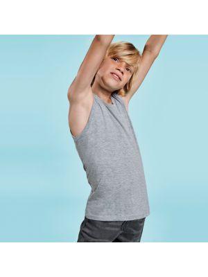 Camisetas tirantes roly texas niño de 100% algodón con impresión vista 1