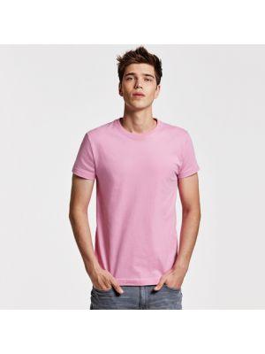 Camisetas manga corta roly braco de 100% algodón con impresión vista 1