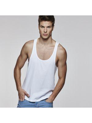 Camisetas tirantes roly cyrano de 100% algodón con logo vista 1