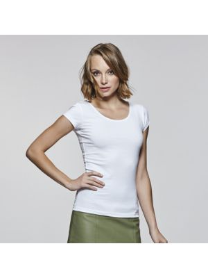 Camisetas manga corta roly agnese mujer de algodon para personalizar vista 2