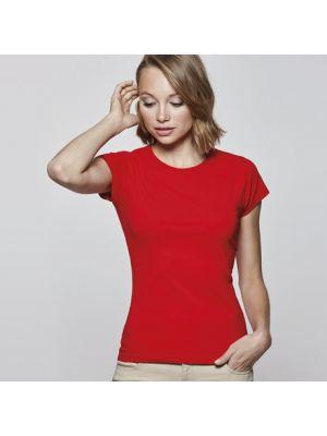 Camisetas manga corta roly bali mujer de algodon con publicidad vista 1