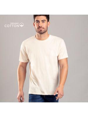 Camisetas manga corta keya organic mc150 de 100% algodón ecológico con publicidad imagen 1