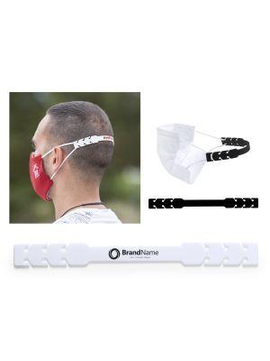 Seguridad covid ajustador mascarilla sivin de silicona con logo vista 2