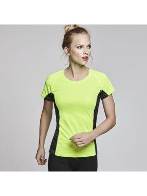 Camisetas técnicas roly shangai mujer de poliéster vista 1