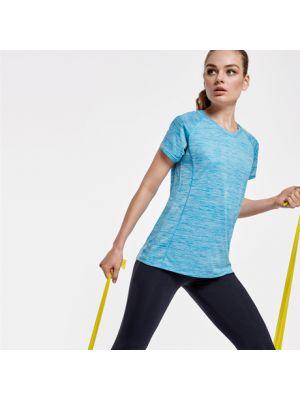 Camisetas técnicas roly austin mujer de poliéster vista 1