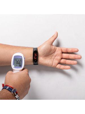 Relojes inteligentes leroux de polipiel con publicidad vista 5