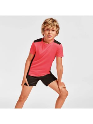 Camisetas técnicas roly detroit niño de poliéster con impresión vista 1