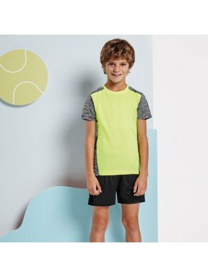 Camisetas técnicas roly zolder niño de poliéster con logo vista 1