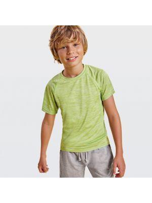 Camisetas técnicas roly austin niño de poliéster con impresión vista 1