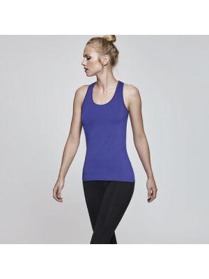 Camisetas técnicas roly aida mujer de poliamida con logo vista 1