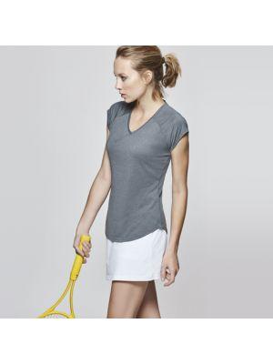 Camisetas técnicas roly avus mujer de poliamida con publicidad imagen 1