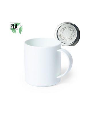 Regalos ecológicos taza pioka de pla 100% para personalizar vista 2