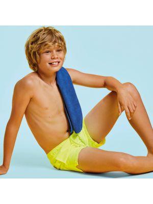 Bañadores roly aqua niño de poliéster con impresión vista 1