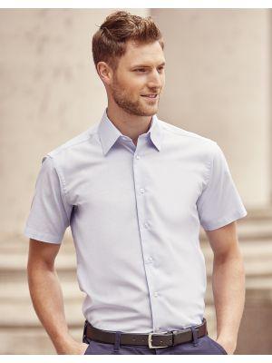Camisas manga corta russell oxford manga corta hombre para personalizar vista 2