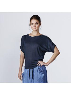 Camisetas manga corta roly vita mujer de poliéster con publicidad vista 1