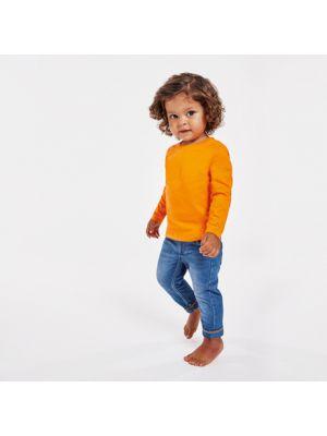 Camisetas manga larga roly baby ls de 100% algodón con logo vista 1