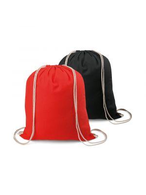 Mochila cuerdas personalizada sac de algodon con logo imagen 2