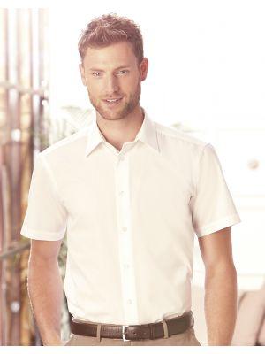 Camisas manga corta russell popelin manga corta hombre con logo vista 1