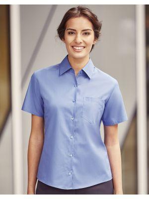 Camisas manga corta russell popelin mujer con impresión imagen 1